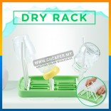 Baby Infant Nipple Pacifier Bottle Feeding Drying Rack Foldable Portable Easy Cleaning Shelf Rack