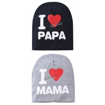 [CLEARANCE] Baby Hat Knitted Warm Cotton Toddler Beanie Cap Kids Girl Boy Wear