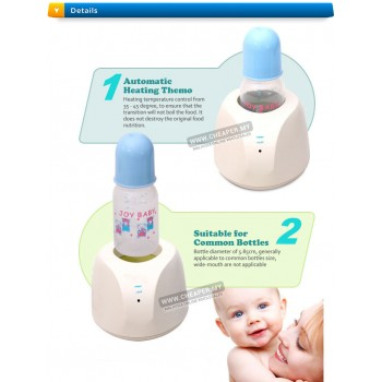 Portable Baby Bottle Warmer Heater Infant Milk Botol Susu Pemanas