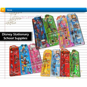 Winnie/Frozen/Cars/Green/Mickey/Hello Kitty/Bighero Stationary Party Gift - Buy 10 Free 1