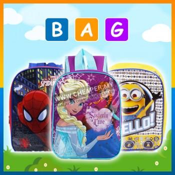 Minions/Frozen/Spiderman/Cars Casual School Bag Backpack Kindergarten