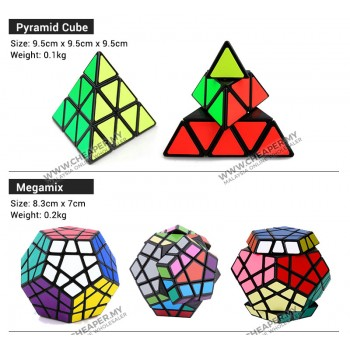 [CLEARANCE] Speed Magic Cube Mirror Magic Cube 3x3 4x4 5x5