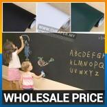 Chalkboard Blackboard /Whiteboard Wall Sticker + FREE Chalks/Marker