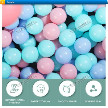 Colourful Soft Plastic Ball Baby Swim Toy Water Pool Wave Ball
