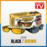 HD Vision Wraparound Anti Glare Sunglasses As seen on TV