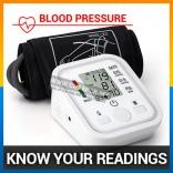 Digital Arm Blood Pressure LCD Monitor & Heart Beat Monitor