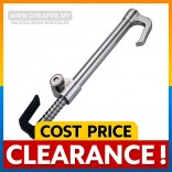 [CLEARANCE] Anti-Thef Fully Stainless Steel Pedal Steering Lock with Special Key