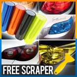 Car Tint 1m meter Fog Headlight Taillight Vinyl Film Sticker 13 color