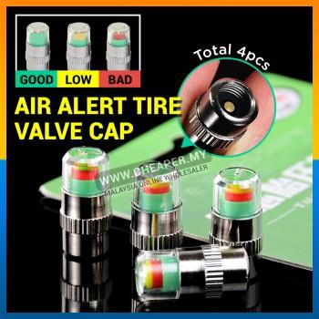 4pcs Car Tire Tyre Pressure Valve Cap Gauge Monitor Indicator Sensor