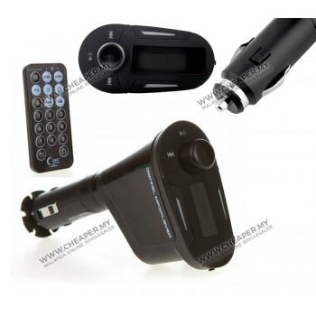 LCD Car Kit MP3 Player Wireless FM Transmitter