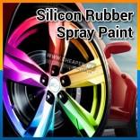 Car Rim Spray Color Plastis Dip Car Rim Silicon Rubber Spray Paint