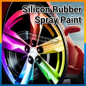 Car Rim Spray Color Plastis Dip Car Rim Silicon Rubber Spray Paint