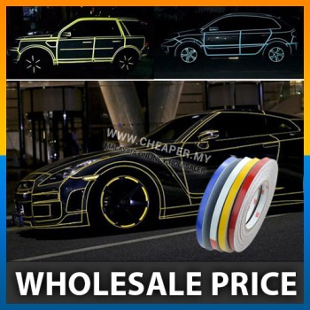 "Car Reflective Sticker Tape Strip 5 meter ""Fast ship"""