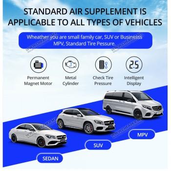 12V Multi-Purpose Car Air Compressor Tire Inflatable Air Pump Car Portable Inflator Pam Udara Kereta Tayar