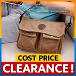[CLEARANCE] Stylish Canvas Bag/Messenger Bag/Satchel Bag/Shoulder Bag/Sling Bag