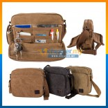 Stylish Multi Compartment Canvas Bag/Messenger Bag/Shoulder Bag