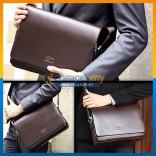 Brown Shoulder Bag/Men's Bag /Leather Bag /Sling Bag/Document Bag