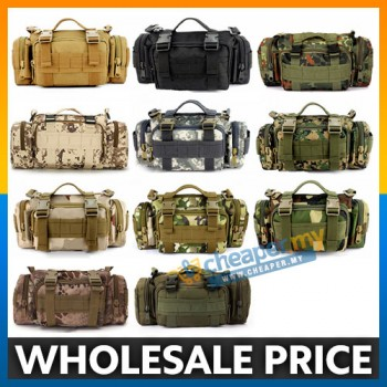 Military Shoulder Waist Pouch Sling Bag Army Cycling Hiking Bag