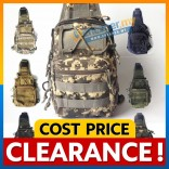Military Shoulder Chest Pouch Sling Bag Army Cycling Hiking Bag