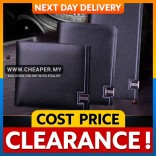 [CLEARANCE] Sevjink Men High Quality Long & Short Genuine Leather Wallet