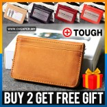 TOUGH Genuine Leather Wallet Purse Pouch Coin Card Holder