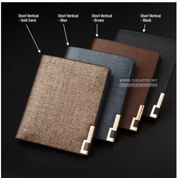 [CLEARANCE] Pidengbao Men High Quality Long & Short Unique Design Leather Wallet