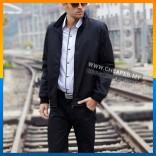 Casual Men Jacket Waterproof Windbreaker Blazer Sportswear Suit Coat