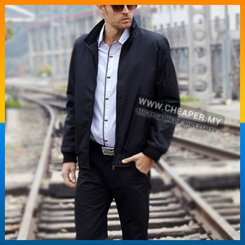Casual Men Jacket Waterproof Windbreaker Blazer Sportswear Suit Coat