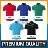 100% No shrink Pique Cotton Polo T-shirt 5 colors up to 3XL