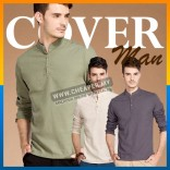 Men's Fashion Linen Top Look Shirt Long Sleeve Thin Slim Fit Leisure M-5XL Size Attend Multi Occasions