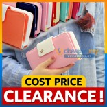 [CLEARANCE] Korean Sweet Wallet/Long Purse/Card Holder/Phone Pouch/Phone Wallets