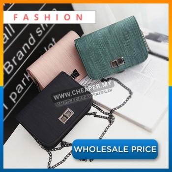 Korean Style Simple Fashion Minimalist Shoulder Small Square Sling Bag