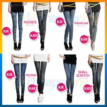 Denim Jeans Printing Legging Jegging denim Jeggings Pants Kain Stretchable