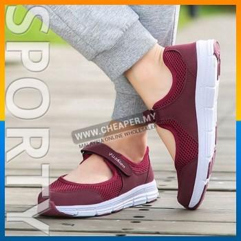 Summer Breathable Women Sneaker Healthy Walking Shoe Outdoor Mesh Antislip Sport