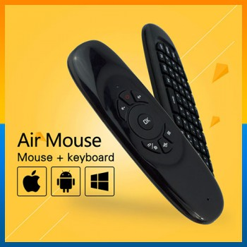 T10 C120 Fly air mouse mini wireless keyboard For PC Android TV Box