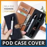 Relx Pod Fashion Portable Storage Compartment Refill Pod Storage Wallet Case Cover