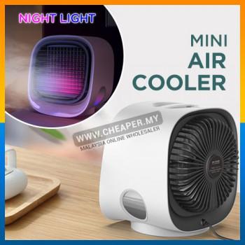 Mini Evaporative Portable Personal Air Conditioner Air Cooler Penyejuk Udara USB Desk Quiet Senyap Fan