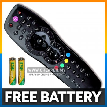 TV Remote Control HD with 9 in 1 Record Function Free Battery