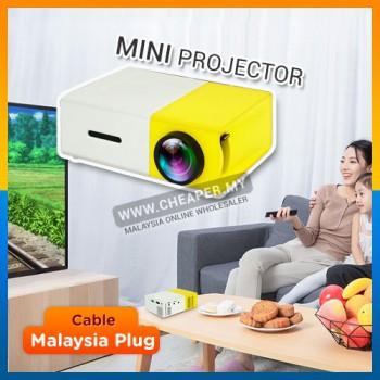 MiniBeam Ultra Portable Mini LED Pico Projector for Home use HDMI Port USB Port yg300 yg-300 lcd projektor