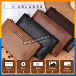 Jeep Buluo Premium Leather Business Men Unisex Clutch Wallet 4 Colours