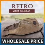 4 Colors Retro Bag - Fashion Outdoor Sports Canvas Shoulder Waist Bag