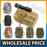 7 Colors Pouch Bag - Belt Waist Pack Bag Pocket for Iphone Military Waistpack