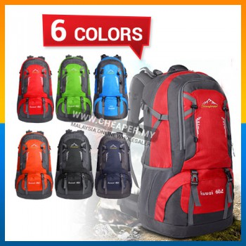 60L Sport Backpack Outdoor Hiking Backpack Athletic Sport Travel Backpack sports bag