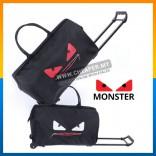 [CLEARANCE] Korean Version Monster Waterproof lightweight Trolley Travel Bag