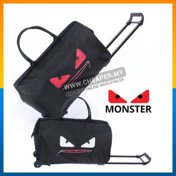 [CLEARANCE] Korean Version Monster Waterproof lightweight Trolley Travel Bag