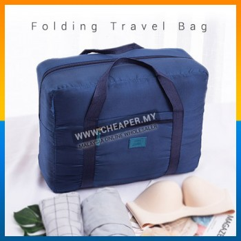 Portable Nylon Foldable Fashion Travel Capacity Carry-On Duffle Luggage Bag