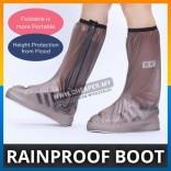 Waterproof Portable Footwear Raincoat Motorcycle Biker Walking Rainproof Shoe Boot Cover