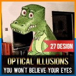 [CLEARANCE] Amazing T-Rex Illusion DIY 3D Dinasour Folding Paper