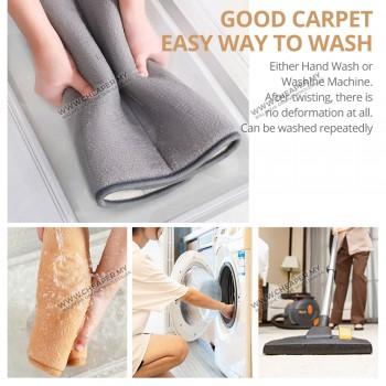 Bath Kitchen Carpet 40*60cm Water Absorption Rug Shaggy Memory Foam Bathroom Mat Floor Mat Alas Kaki
