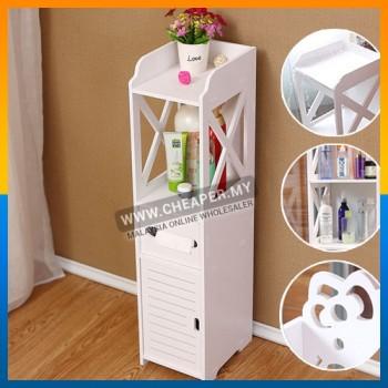 Bathroom Bedroom Narrow Waterproof Cabinet Toilet Side Rack Storage Multifunction Floor Rack Locker